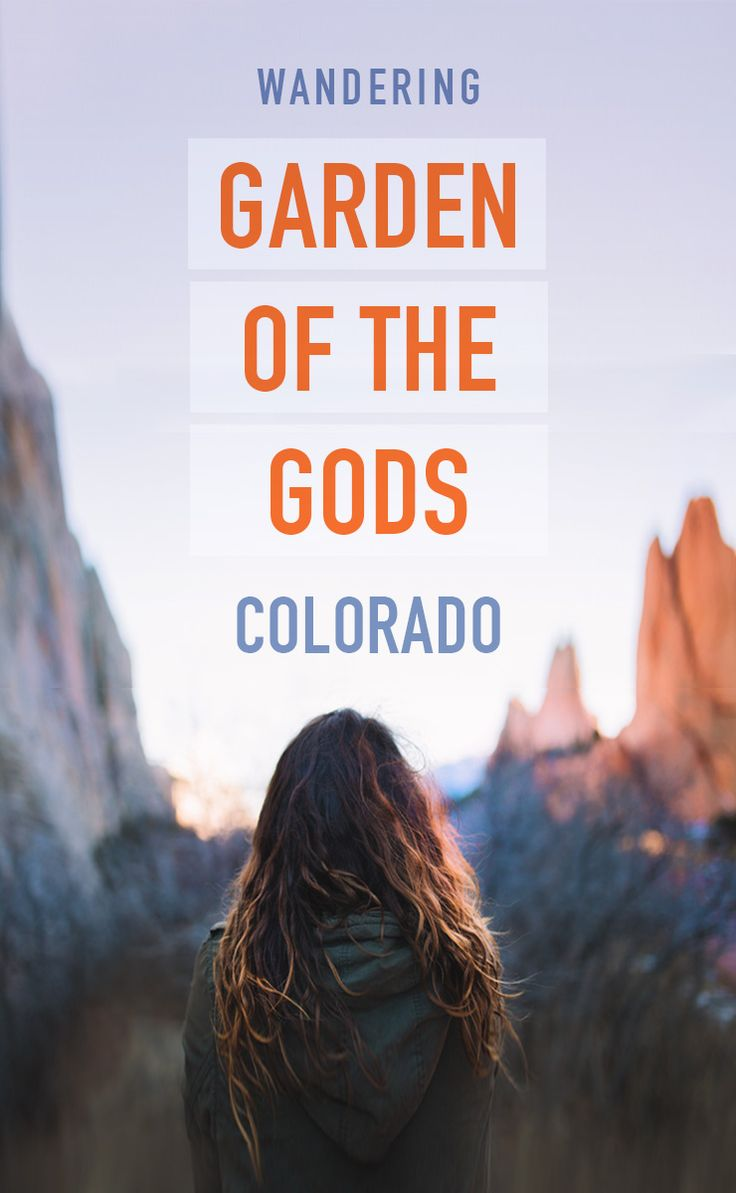 The Garden of the Gods in Colorado Springs, Colorado USA is hidden gem that should be on your bucket list