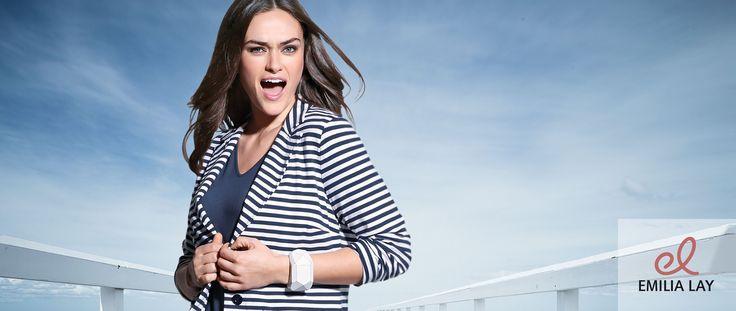Blau - die Trendfarbe für Frühjahr/Sommer 16      Jetzt bei Emilia Lay entdecken!