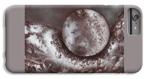 Marble Planet IPhone 6s Plus Case Printed with Fine Art spray painting image Marble Planet by Nandor Molnar (When you visit the Shop, change the orientation, background color and image size as you wish)