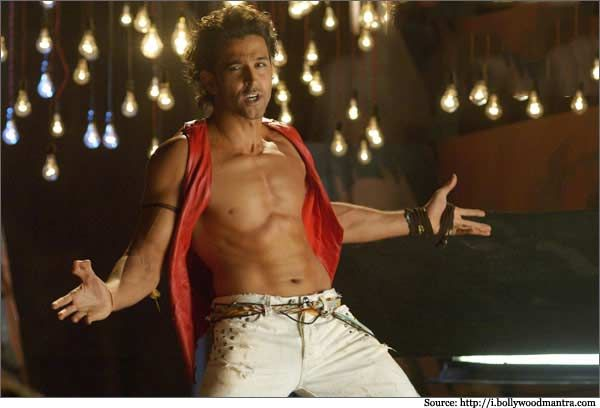 #hrithik roshan Dancing Pic From #Dhoom 2
