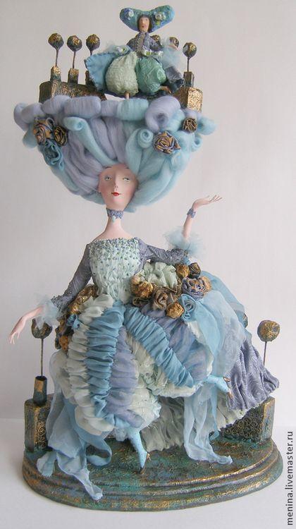 Коллекционные куклы ручной работы: Променад. Handmade.