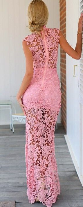 """""""Red Carpet Ready"""" Maxi Long Crochet Dress (3 colors available)"""
