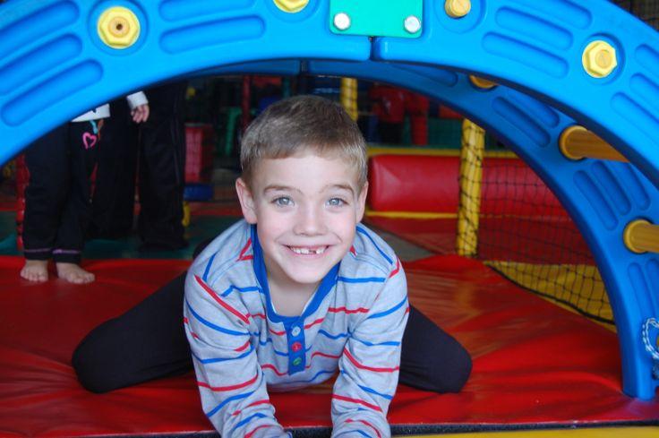 Kids play indoors at Yeesh!