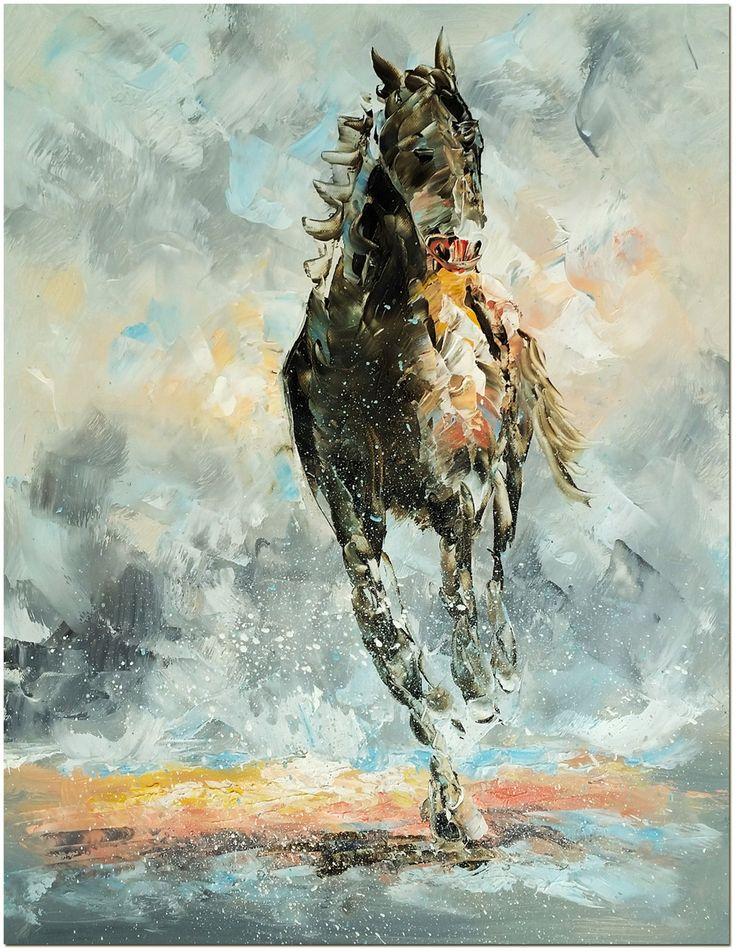 112 best animal oil painting images on pinterest canvas for Abstract animal paintings