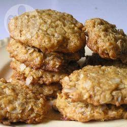 De enige echte Anzac koekjes, (Australische koekjes)  @ allrecipes.nl