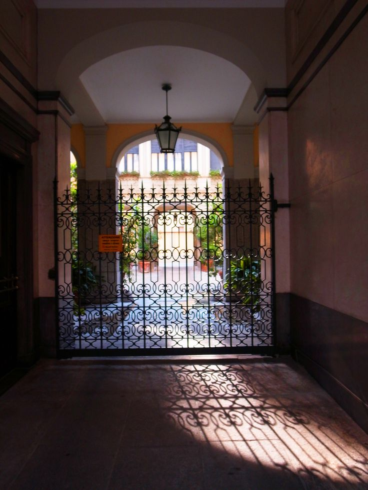 Gate in Milano by Chialily