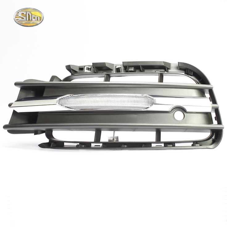 SNCN Daytime Running Light for Volkswagen VW Touareg 2010 2011 2012 2013 2014 LED DRL front bumper lamp accessories
