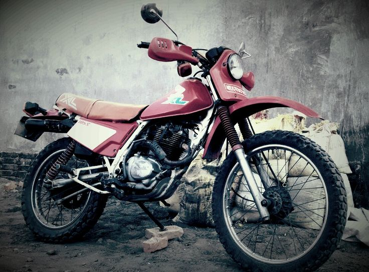 """Vintage Honda XL 185 """"1996 Model"""" at Tranquil Homestay"""