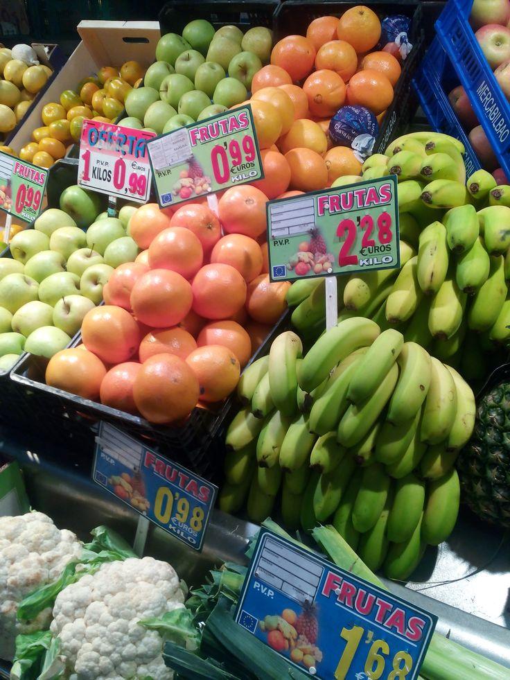 Frutas y Verduras Jesús y Rosi,Mercado de la Ribera, Bilbao