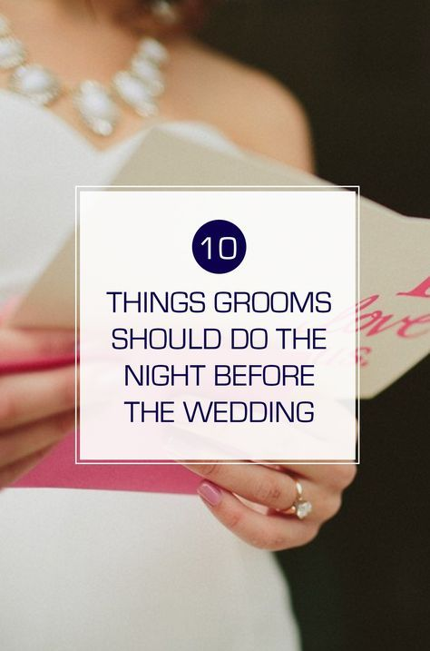 Reminders and tips for the grooms-to-be on how to make sure you are ready for the wedding day! wedding planning | groom duties | groom ideas | night before the wedding | wedding checklist | pre-wedding |