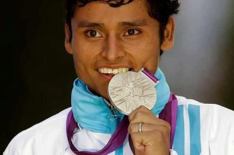 Erick Barrondo  20 km. Silver medal winer from Guatemala !!!