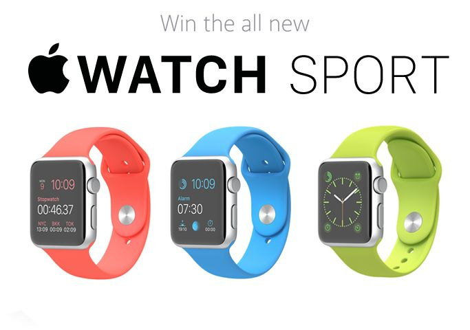 Hey there, I just entered to Win a Win an Apple Watch Sports! Enter now for your chance!