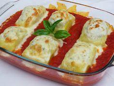 Patatas rellenas de pollo y tomate con Thermomix
