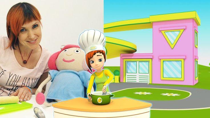 Nuovo! Cuciniamo insieme i ravioli! | video divertenti per bambini