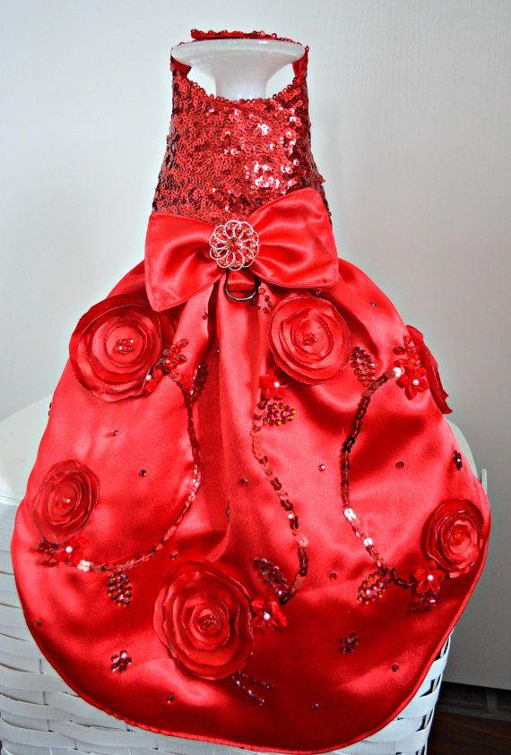 Red dress xxs harness