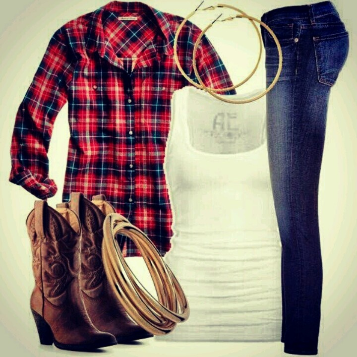 Cowgirl style :)