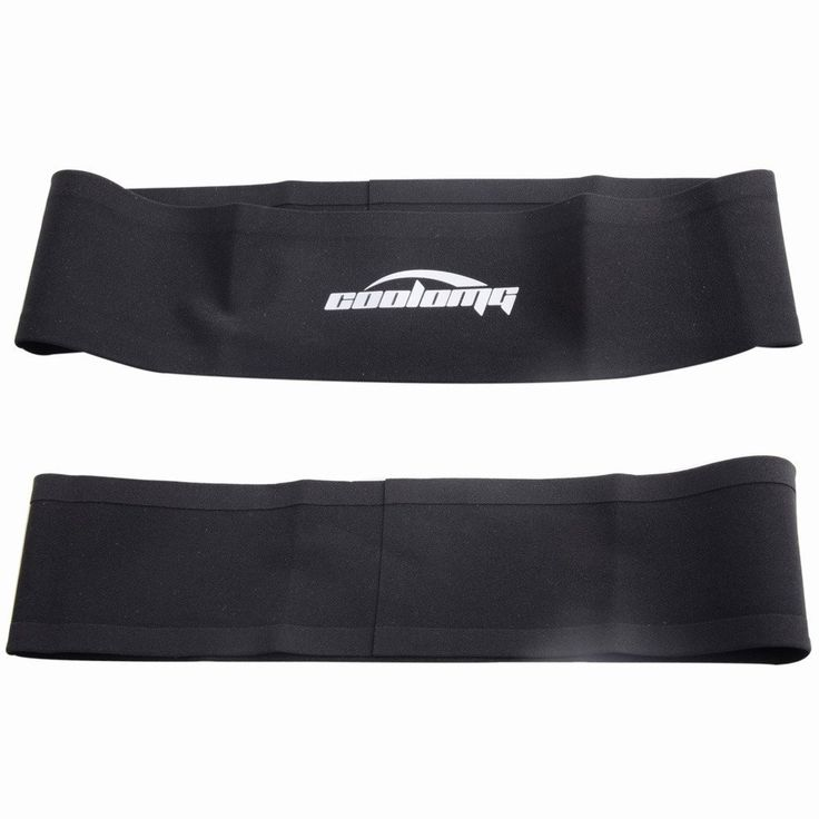 COOLOMG Uni-Sex Solid Moisture Wicking Stretchy seamless Headband For Sports Yoga Running Black: Amazon.de: Sport & Freizeit