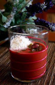 Mary505: Gazpacho de cerezas de Dani Garcia