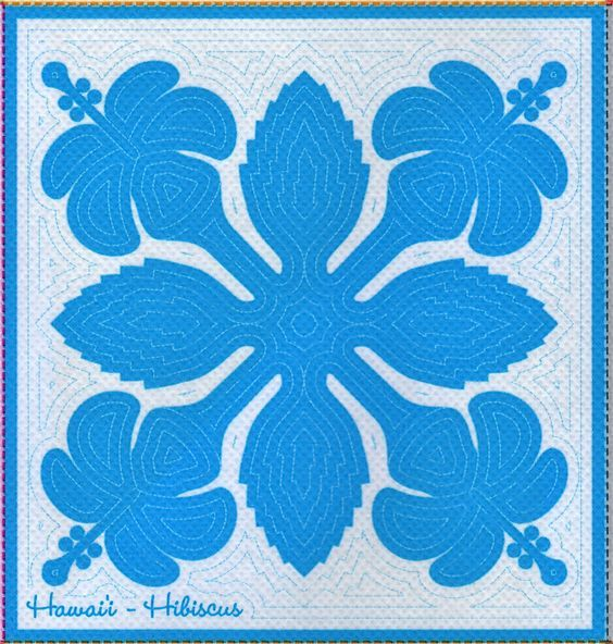 photograph relating to Free Printable Quilt Stencils identified as Impression final result for Hawaiian Quilt Stencils Cost-free Printable