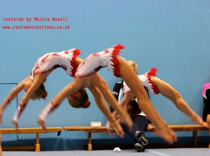 Spelthorne Sports Acrobats - costumes by Monica Newell Costume Creations UK