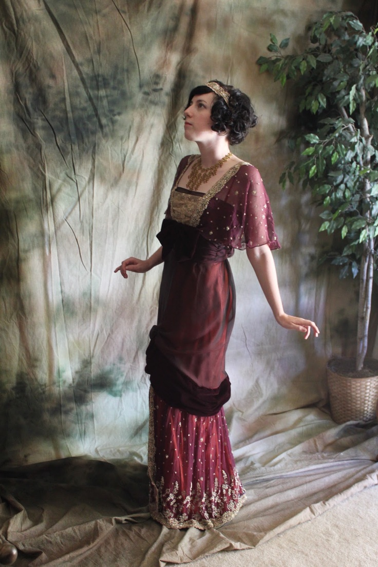 Idlewild Illustré: An evening in 1912, or, the Epic Titanic Dinner dress