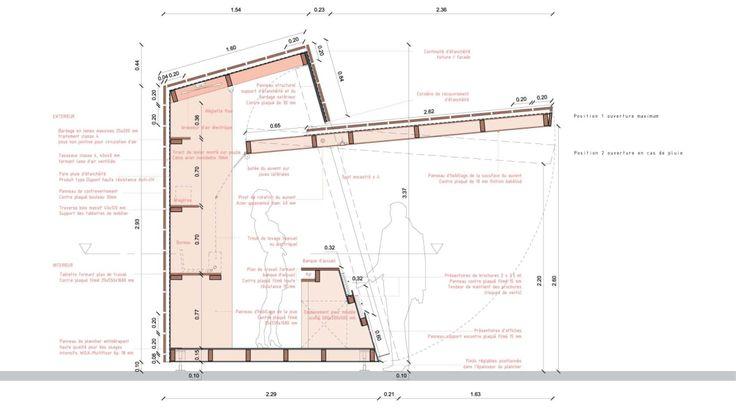 PAN architecture - jean luc fugier & mathieu barbier bouvet · kiosque d'information