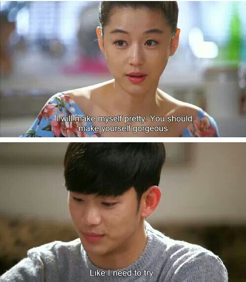 So true. He is FINE! ~ My Love From Another Star
