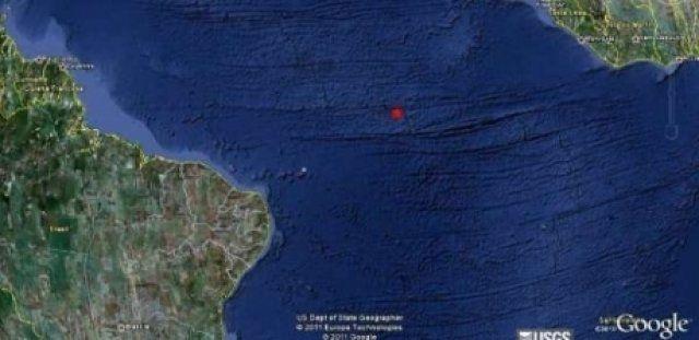 SONIA FURTADO: TERREMOTO NO OCEANO ATLÂNTICO MUITO FORTE!