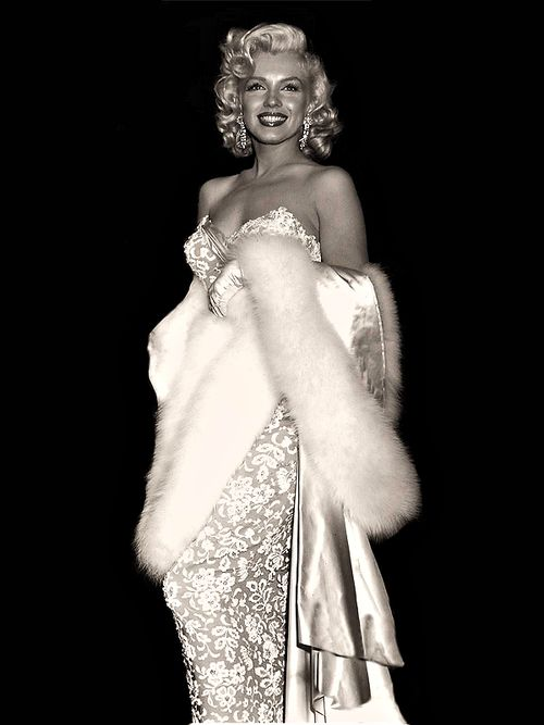 Marilyn Monroe at the premiere of How To Marry A Millionaire, 1953