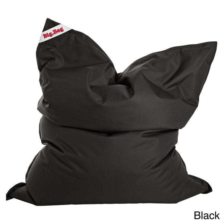 Sitting Point Oxford Fabric Bigbag Brava Extra Large Bean Bag (Black, XL)