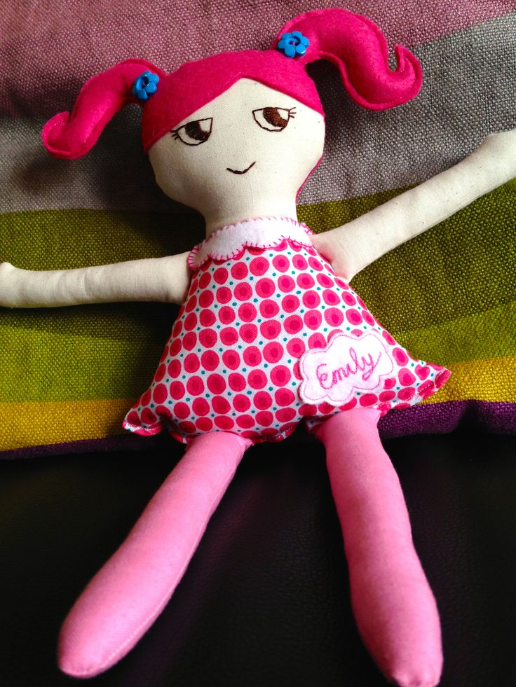 Personalised Cloth doll