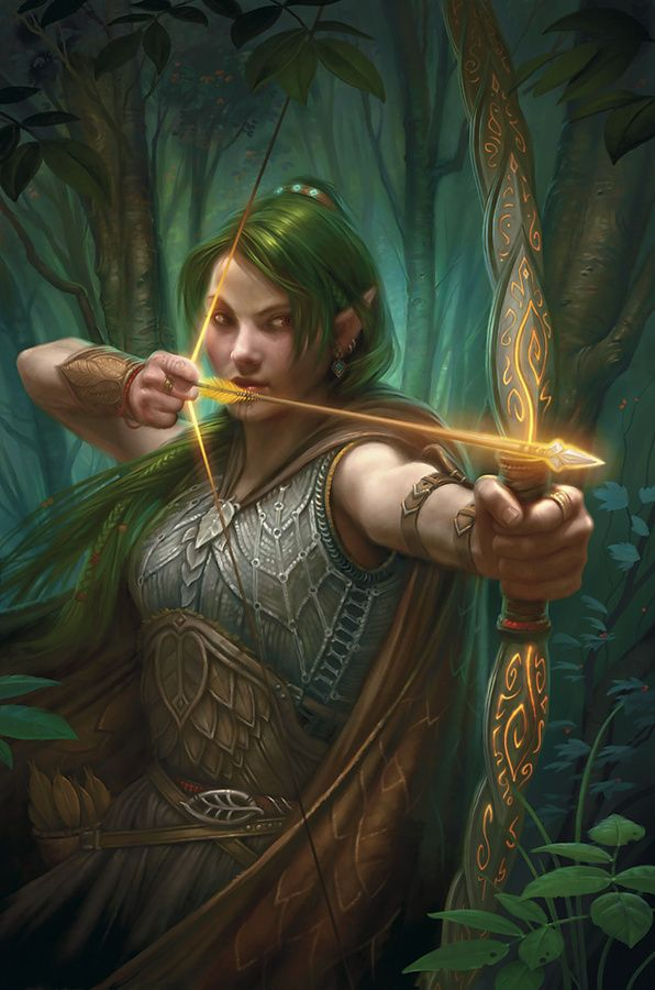 Image result for Elven flaming longbow