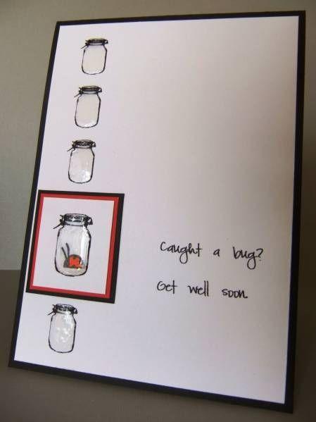 cute get well card: