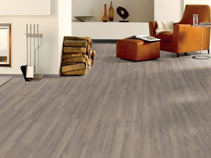 Elf Oak Warm Grey Laminated Flooring | CTM