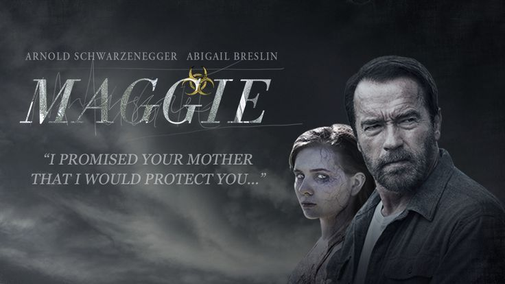 Poster Image Starring: Arnold Schwarzenegger, Abigail Breslin, Joely Richardson Directed by: Henry Hobson Distributed by: Lionsgate Films, Roadside Attractions. Release Date: May 8 2015. Maggie Trailer was last modified: February 7th, 2016 by Kaarle Aaron