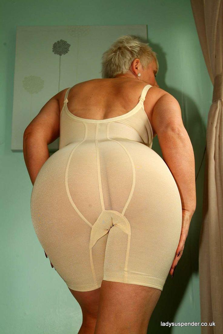 Bra girdle women mature