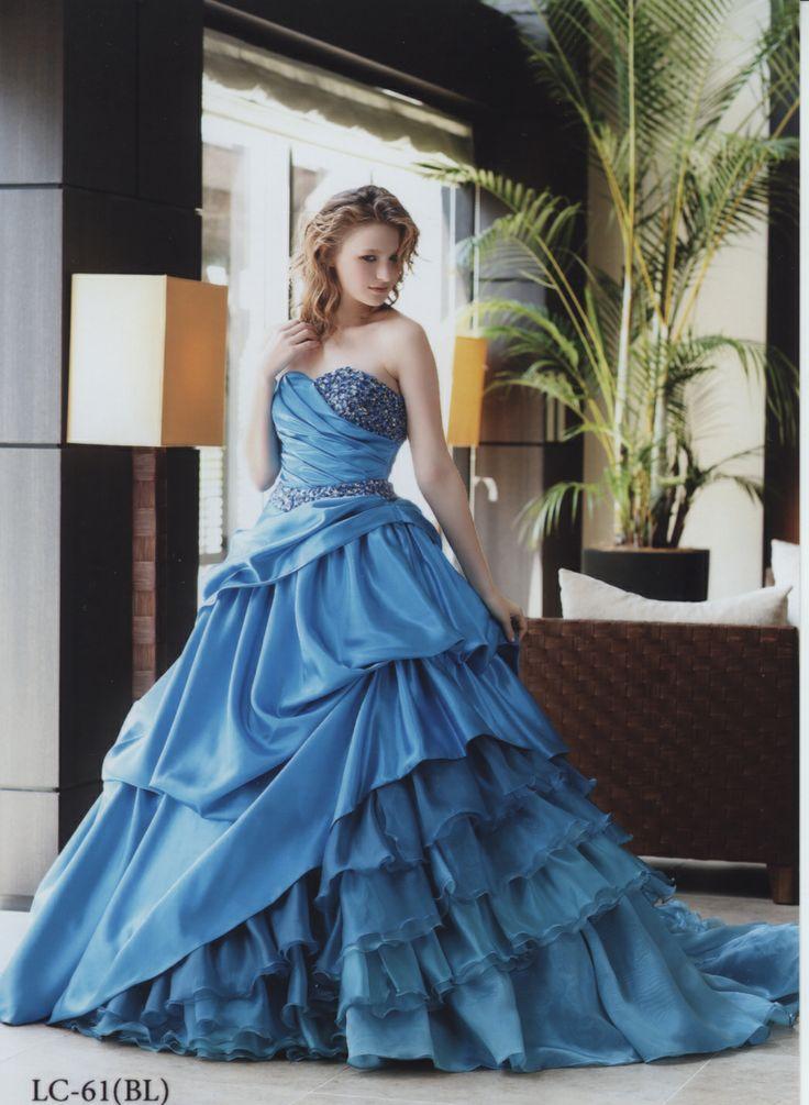 2014新作ドレス|A711T-BL-894