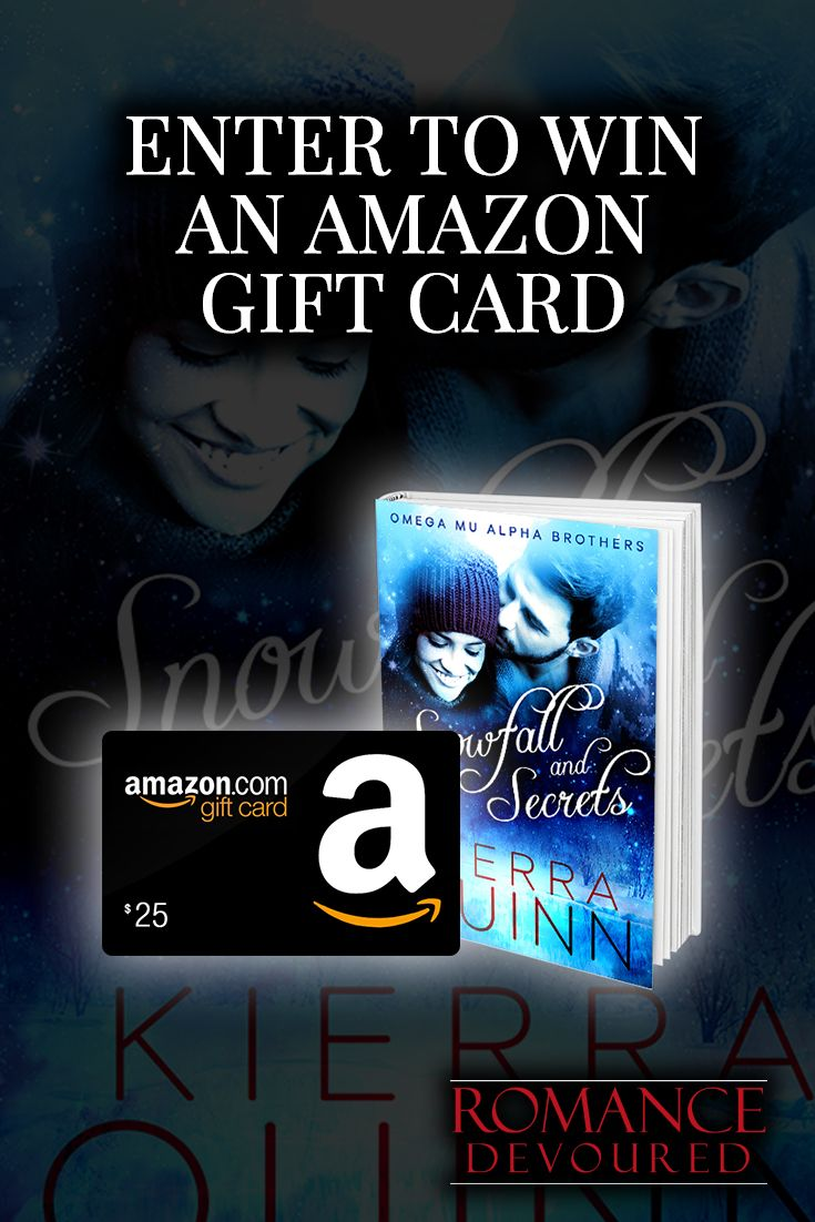 #Win a $25 Amazon Gift Card from Bestselling Author Kierra Quinn. ENDS: 20JUN2016 at 12 am CDT.