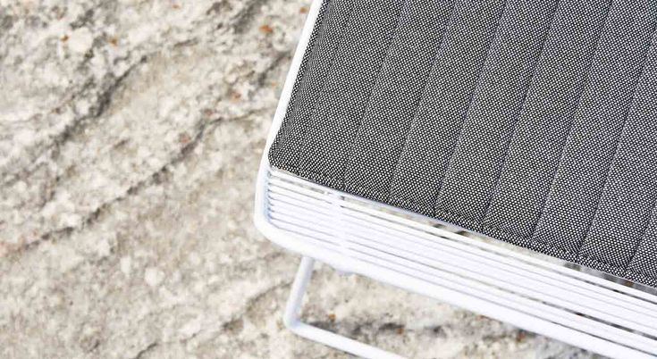 Instyle Textiles: Extreme. A modern high performance textile suitable for indoor + outdoor use