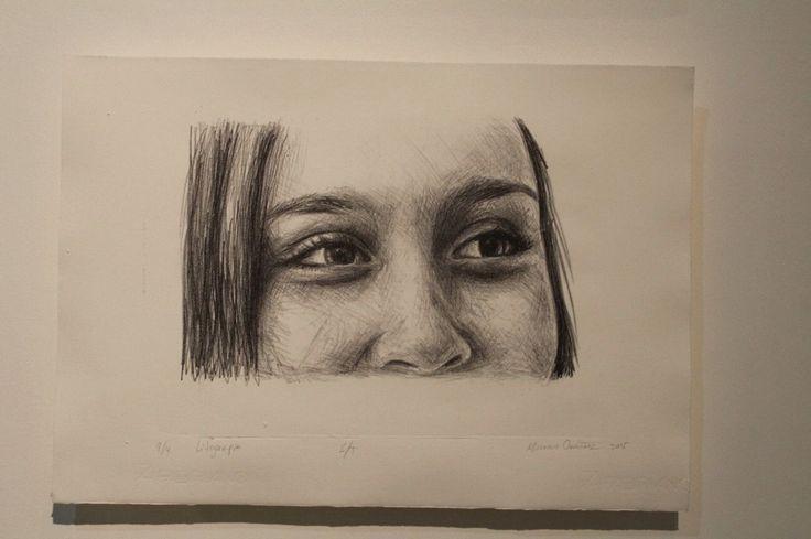 Ojos litografía lithography ❤️
