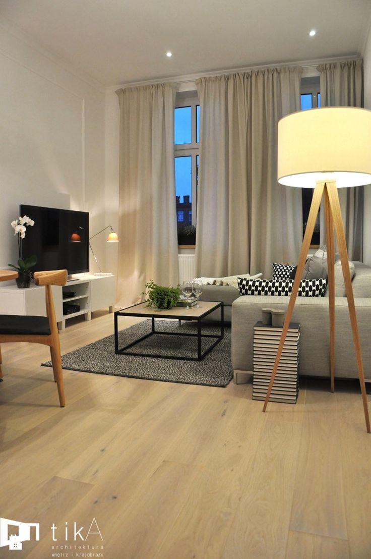 Projekt Bielsko-Biała - Mały salon, styl skandynawski - zdjęcie od TIKA