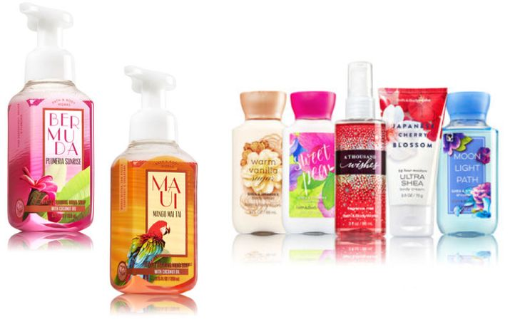 TODAY ONLY - Bath & Body Works $2 Travel Size & $2.40 Hand Soaps!