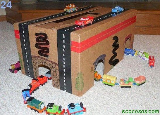 25 formas de reciclar cajas de cartón para que tus hijos se diviertan – Ecocosas