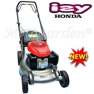 Nuovi modelli professionali, per casa, giardino e tempo libero. Con Honda IZY466 SK è possibile tagliare il prato, raccogliere l'erba e fare mulching a piacimento.  Sono rasaerba multifunzione.