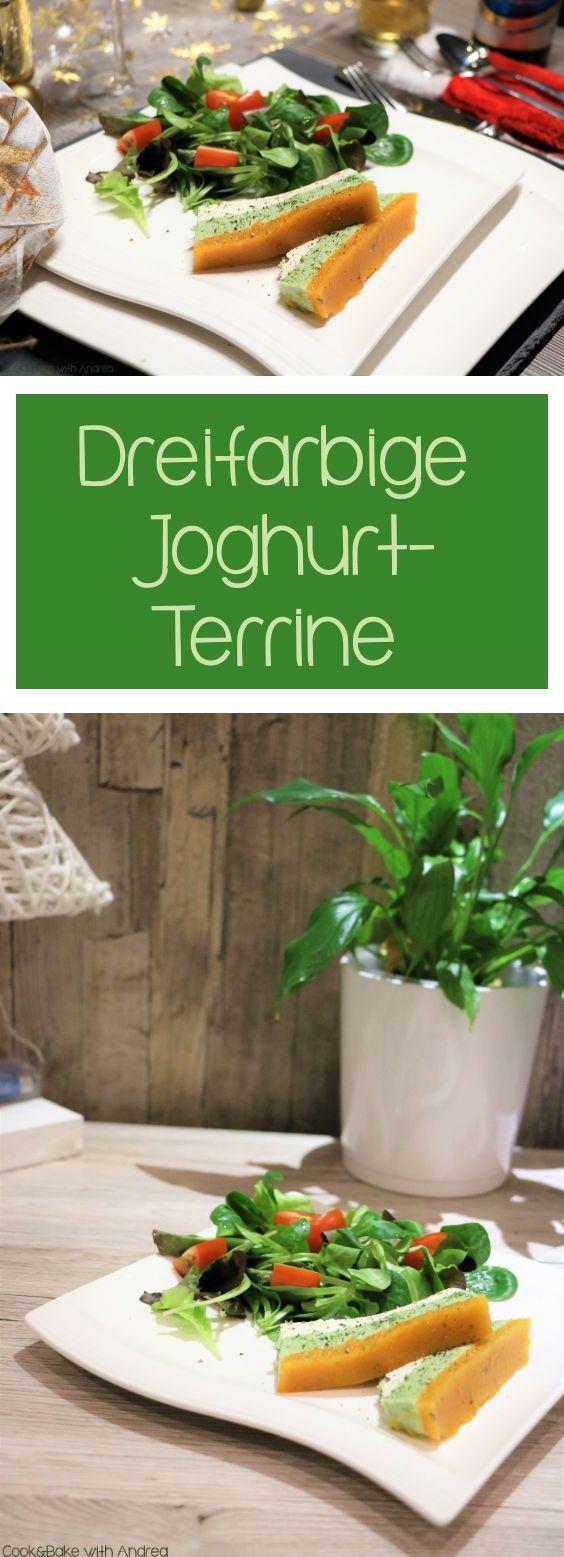 Joghurtterrine - gut vorzubereiten und eine angenehme und leichte Vorspeise, wahlweise als Zwischengang.