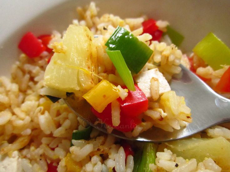 Recipe 4 Accompaniment - Vegetarian Fried Rice.
