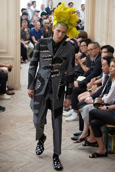 Comme des Garçons Homme Plus Spring 2016 Menswear Collection - Vogue #menswear #runway #spring2016 #spring #2016 #fashion #style #trends #trendy #trend2016