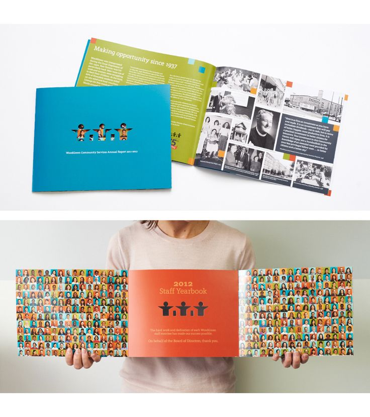 WoodGreen Annual Report Design By Gravity