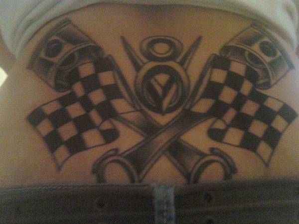 Hot Rod Car and Truck Tattoo Submitted by Tasha Stogsdill