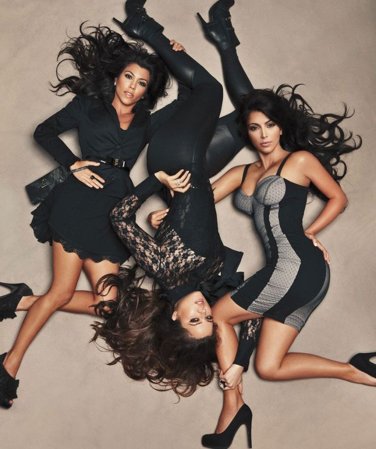 The Kardashian Sisters! Their bond is so strong no one can come between them! They are powerful women!